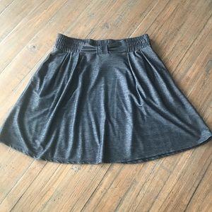 Women's LC Lauren Conrad blue denim look skirt